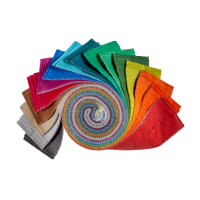 "Kaufman 2.5"" Roll Up Fresh Hues Ombre"