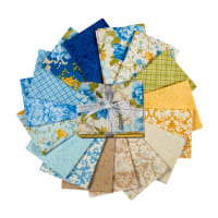 Kaufman Fat Quarter Bundles Beckford Terrace Sky, 16 pcs.