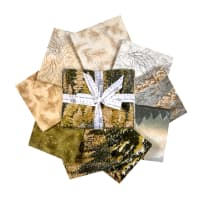 Kaufman Fat Quarter Bundles Nature's Window Autumn 9 Pcs
