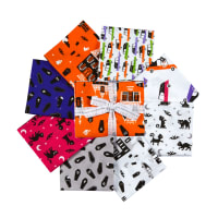 Kaufman Fat Quarter Bundles Eerie Alley 8 Pcs