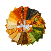 Kaufman Fat Quarter Bundles Giving Thanks 24 Pcs