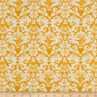 Kaufman Beckford Terrace Medallion Yellow