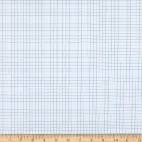 Kaufman Out Of Print Graph Paper Blue