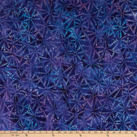 Kaufman Natural Formations 3 Pinwheels Purple