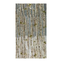 Kaufman Nature's Window Metallic Birch Trees Autumn