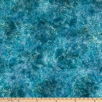 Kaufman Artisan Batiks Aqua Spa 3 Squiggles Water