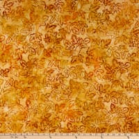 Kaufman Artisan Batiks Cornucopia 10 Mulberry Leaves Maize