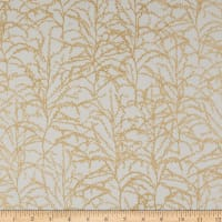 Kaufman Winter Shimmer Metallic Branches Oyster