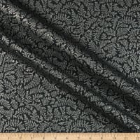 Kaufman Holiday Flourish 12 Metallic Branches Ebony