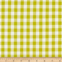 Kaufman Kitchen Window Wovens Gingham Pickle