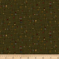 Henry Glass Home Is Best Square Texture Green