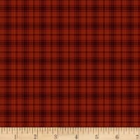 Henry Glass Home Is Best Yarn Dye Plaid Red