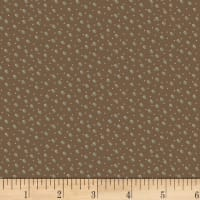 Henry Glass Winter Wonderland Snow Dot Brown
