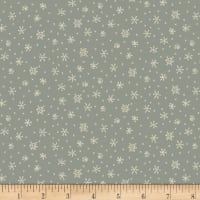 Henry Glass Winter Wonderland Snowflakes Blue