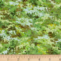 P&B Textiles Autumn Tranquility Texture Green