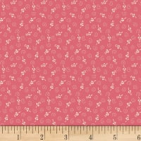 Washington Street Studio One-Room Schoolhouses Floral/Swirls Pink