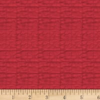 Washington Street Studio One-Room Schoolhouses Texture Red