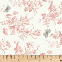 P&B Textiles/WSS Sonnet Small Floral Pink