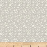 P&B Textiles/WSS Sonnet Forget Me Knots Light Grey