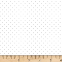 P&B Textiles Basically Hugs Flannel Dots Grey