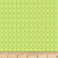 P&B Textiles Basically Hugs Flannel Hexies Green