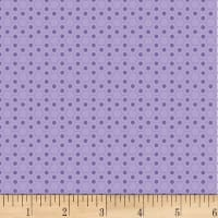 P&B Textiles Basically Hugs Flannel Hexies Purple