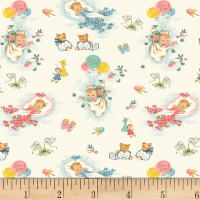 P&B Textiles Welcome Baby Main Toss Baby Multi