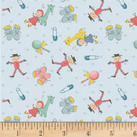 P&B Textiles Welcome Baby Small Baby Items Blue