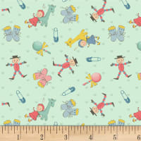 P&B Textiles Welcome Baby Small Baby Items Light Mint
