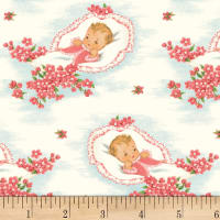 P&B Textiles Welcome Baby Baby/Flowers Pink