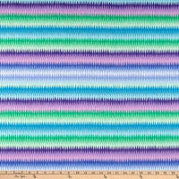 Kaffe Fassett Collective for FreeSpirit Diamond Stripe Blue