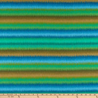 Kaffe Fassett Collective for FreeSpirit Diamond Stripe Green