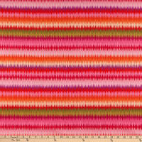 Kaffe Fassett Collective for FreeSpirit Diamond Stripe Pink