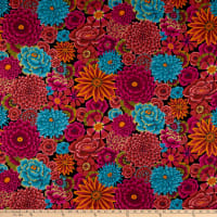 Kaffe Fassett Collective for FreeSpirit Enchanted Dark