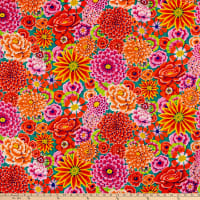 Kaffe Fassett Collective for FreeSpirit Enchanted Red