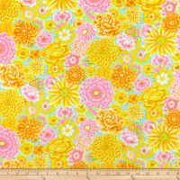 Kaffe Fassett Collective for FreeSpirit Enchanted Yellow