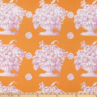 Kaffe Fassett Collective for FreeSpirit Stone Flower Orange