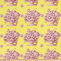 Kaffe Fassett Collective for FreeSpirit Stone Flower Yellow