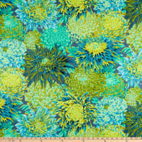 Kaffe Fassett Collective for FreeSpirit Japanese Chrysanthemum Forest