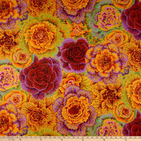 Kaffe Fassett Collective for FreeSpirit Brassica Orange