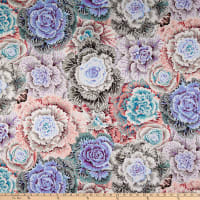 Kaffe Fassett Collective for FreeSpirit Brassica White