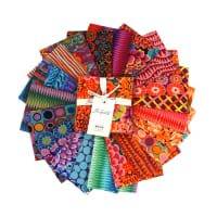 "Kaffe Fassett Collective for FreeSpirit Fall 2018 Night  42 pc 5"" Charm Pack"