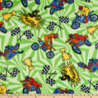 Polar Fleece Motocross Green