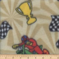 Polar Fleece Motocross Tan