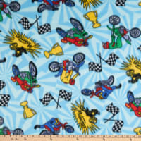 Polar Fleece Motocross Blue
