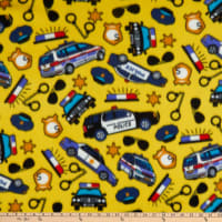 Polar Fleece Police Yellow
