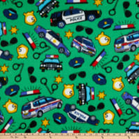Polar Fleece Police Green