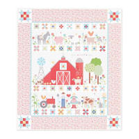 Riley Blake Designs Farm Sweet Farm Quilt Kit in Vintage Farm Girl