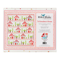 Riley Blake Designs Grandma's House Quilt Kit  in Little Red