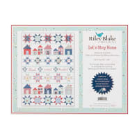 Riley Blake Designs Let's Stay Home Quilt Kit  in Fox Farm